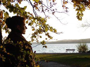 Foto von Sonja Wessel: Herbstruhe am See