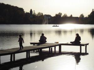 Foto von Sonja Wessel: Menschen am See