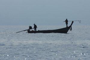 Foto von Sonja Wessel: Fischer in Thailand