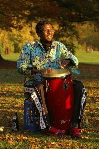 Foto von Sonja Wessel: Trommler im Park